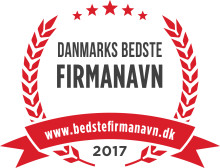 Hvem har Danmarks bedste firmanavn?