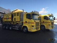 2 nye  Scania slamsugere til Skælskør Kloakservice