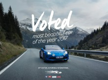 Alpine A110 – Vackraste bilen 2017