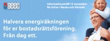 Brf:er i Nacka och Värmdö bjuds in till informationsträff om geoenergilager