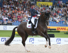 Charlotte Dujardin announced as test rider for the Young Horse Swedish Championships 2016