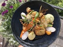 Per såld vegetarisk varmrätt i juli, skänker Hotell Kristina 20 kr till Uppsala Stadsmission