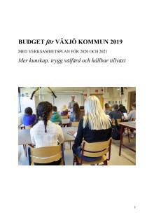 Budget Blågröna 2019