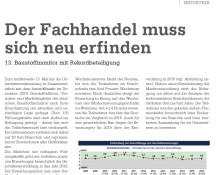 """Fachartikelveröffentlichung  im """"baustoffmarkt"""": Aktuelle Trends und Herausforderungen in der Baustoffindustrie"""
