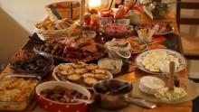 Julbordet blev till hämtpizza