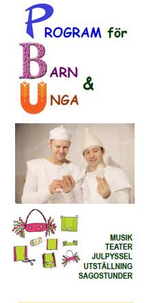 Höstens kulturprogram för barn och unga i Lindesberg