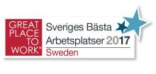 Centiro fortsatt på topplacering bland Sveriges bästa arbetsplatser