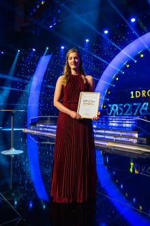 Julia Johansson tilldelas Scandics Domarpris