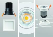 För variabel, detaljerad rumsbelysning –  nya LED-downlights från ESYLUX