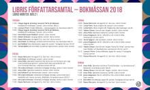 Libris författarsamtal Bokmässan 2018
