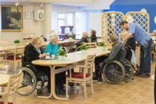 Bättre mat ger gladare, mättare och piggare pensionärer.