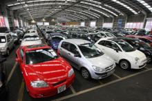 Försäljningen av begagnade personbilar minskade med 0,1 % i december