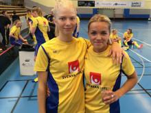 Två debutanter i damlandslagets trupp till Finnkampen