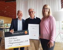 Fotbollstränare får Sparbanken Nords mångfaldsstipendium