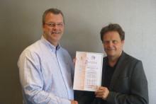 Dokumentert AS første firma i Norge med ISO 9001 sertifisering