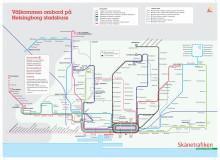 Ny linjekarta för Helsingborgs stadsbussar