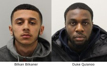 Two men who shot and stabbed innocent bystander in Enfield jailed