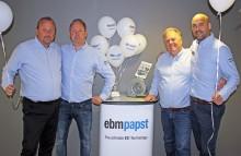 Lyckad invigning av ebm-papst nya lokalkontor i Göteborg