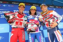 黒山健一選手が参加する日本チームがトライアル・デ・ナシオンで2位表彰台獲得!