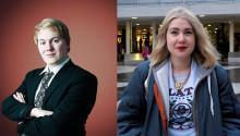 Robin och Amanda - Sveriges representanter på Telenor Youth Summit 2013