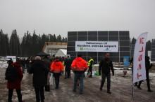Veidekke lade grunden för Nordens största solpark
