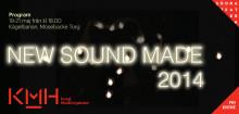 Programbok för New Sound Made – Kungl. Musikhögskolans jazzfestival 19-21 maj 2014