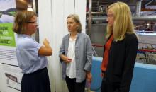 Läkemedelsrening i fokus när politiker besökte Hammarby Sjöstadsverk