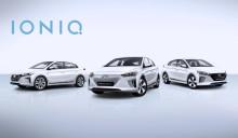 Hyundai presenterar tre elektriska drivlinor i Genève med Hyundai IONIQ
