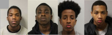 Group of five males guilty of murder after hunting, running over and stabbing teenager to death in Newham