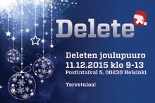 Deleten joulupuuropäivä 11.12.2015 klo 9-13 Helsingin Ilmalassa