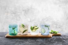 Farvede glas til hverdag og fest