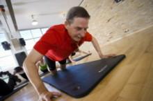 Rekordmånga seniorer tränar med GIH i Solna
