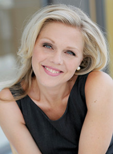 Sopranen Miah Persson som Aspasia i Mozarts Mitridate på Drottningholms Slottsteater 2014