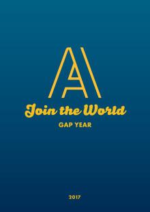 Die AIFS Gap Year Broschüre