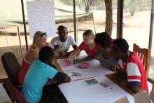 Aleungdomar till Botswana