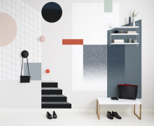 Fragments – a graphic wall mural collection from By May