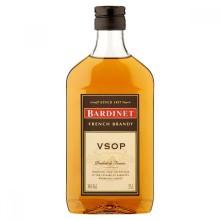 Brandy Bardinet VSOP- Nu i halvflaska!