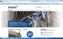 Delete lanserar ny webbplats