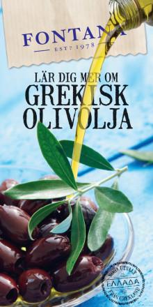 Lär dig mer om grekisk olivolja