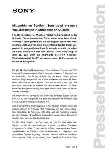 Medienmitteilung_Fussball in 4K an WM 2014_D-CH_140612
