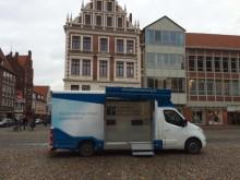 Beratungsmobil der Unabhängigen Patientenberatung kommt am 8. Februar nach Lüneburg.