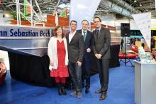Stadthafen Leipzig startet mit neuen Elektromotorbooten in die Saison 2015