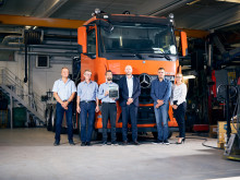 Tre danske lastbilsopbyggere opnår certificering af Mercedes-Benz