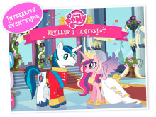 My little pony galopperer inn i ny bok-app