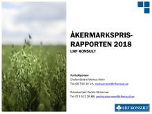 Åkermarksprisrapport 2018
