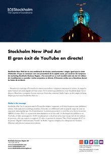 La Mercè: Stockholm New iPad Act: El gran èxit de YouTube en directe!