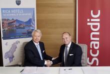 Scandic köper Rica Hotels - Utökar portföljen med 72 välrenommerade hotell