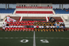 Kina skriver amerikansk fotbollshistoria i Uppsala