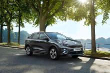 Premiär för Kia e-Niro på bilsalongen i Paris