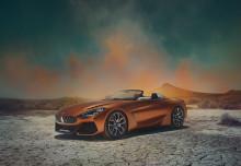 Frihet på fire hjul: Her er helt nye BMW Concept Z4